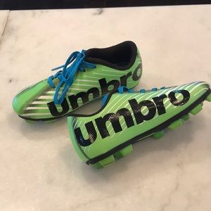 Unbro Green Soccer Shoes Cleats 11